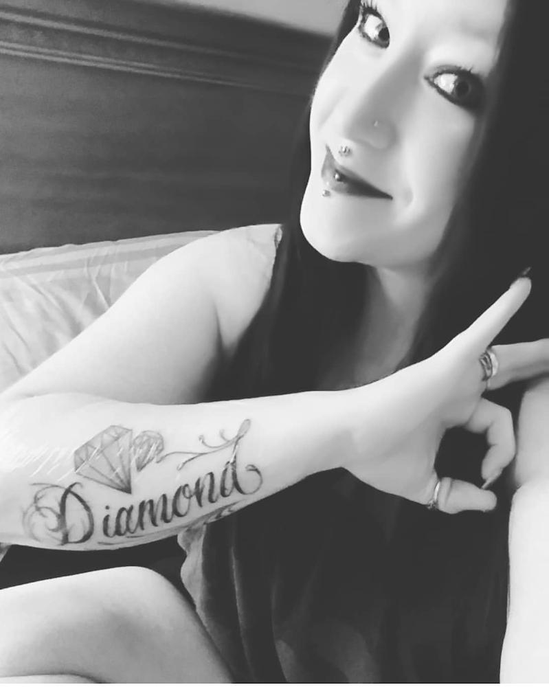 Dimes Tattoo - Missy AKA Mystic