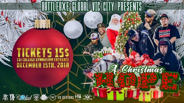 A CHRISTMAS HOPE EVENT  FACEBOOK COVER PHOTO